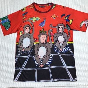 Dolce & Gabbana Monkey Short Sleeve